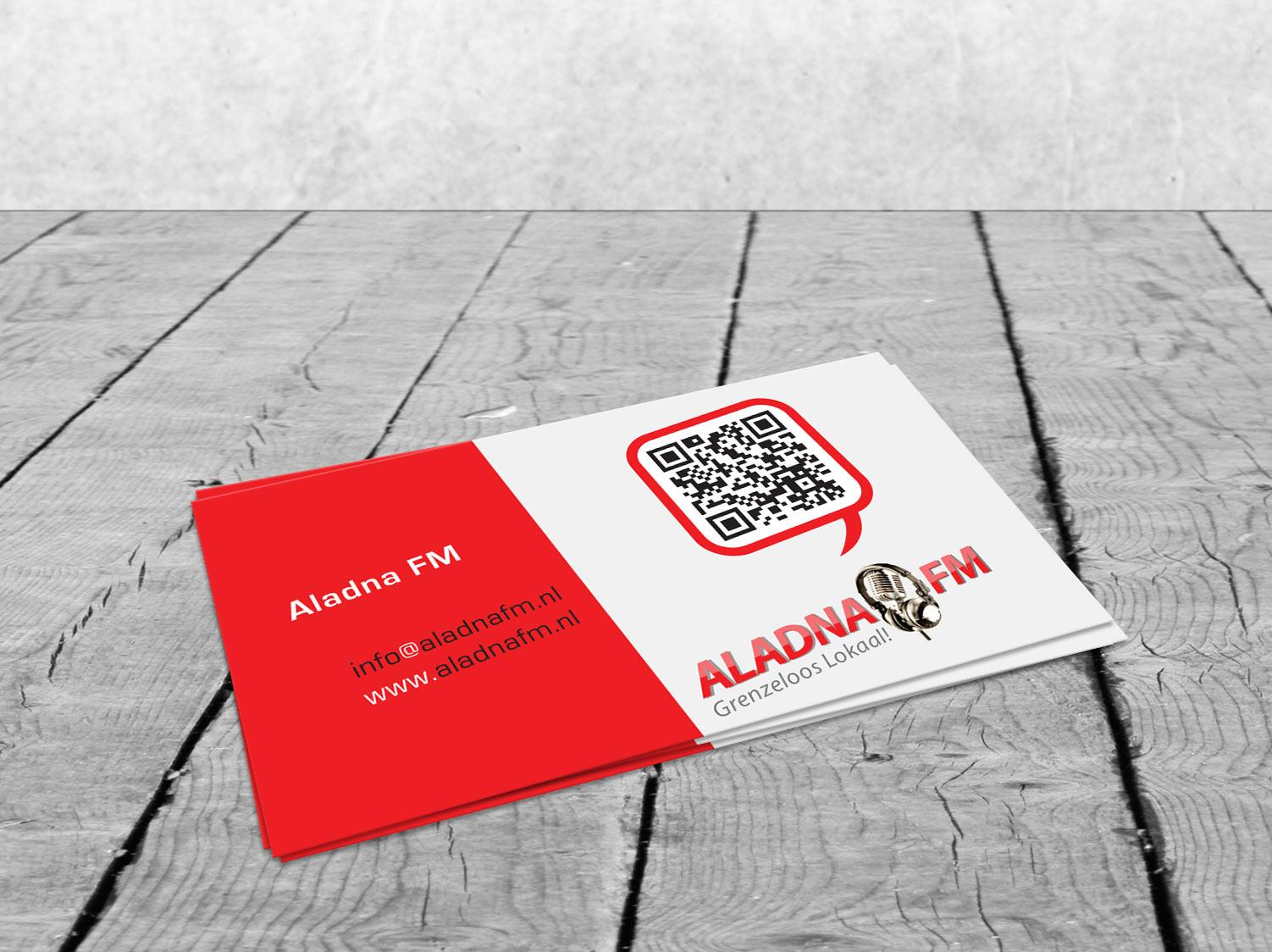 Visitekaartjes AladnaFM Aalten