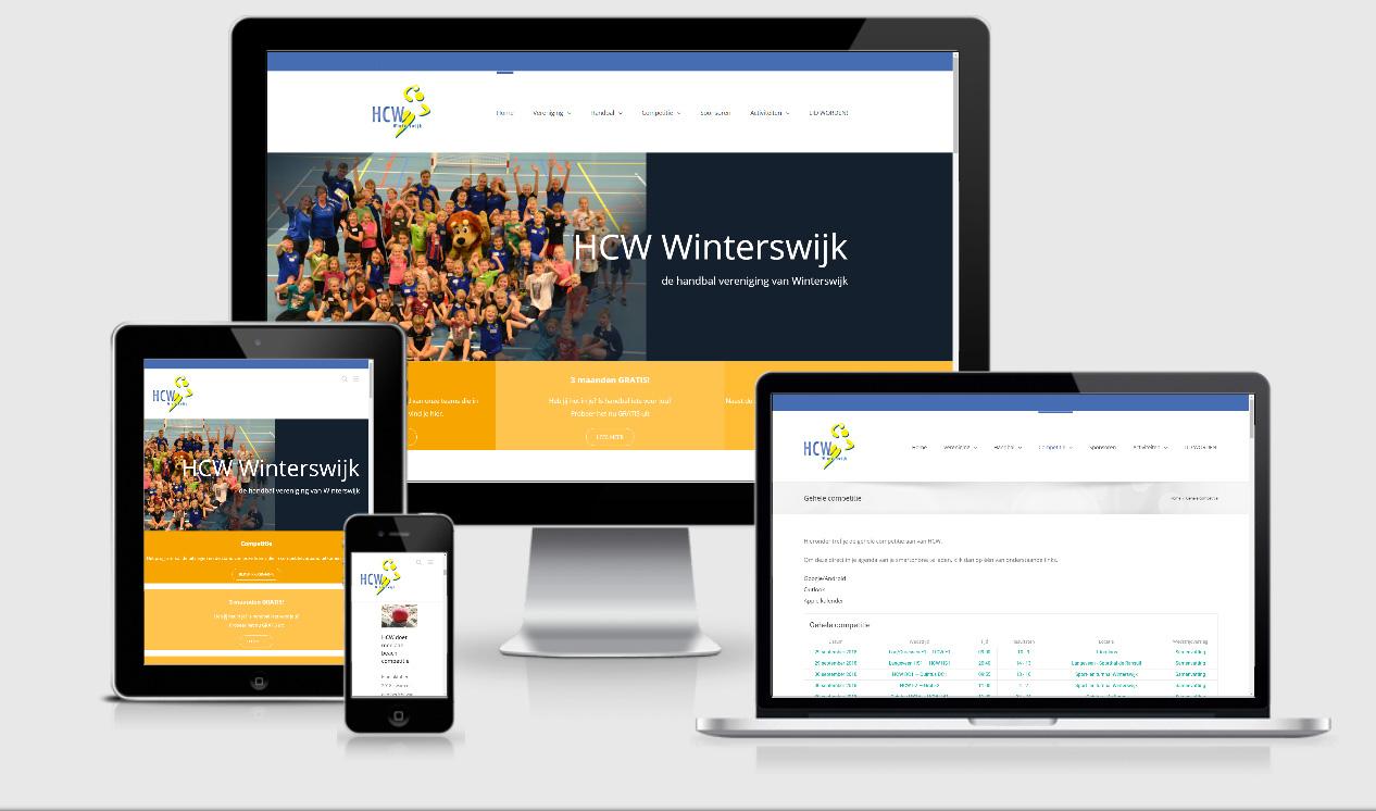 Website ontwerp HCW Winterswijk