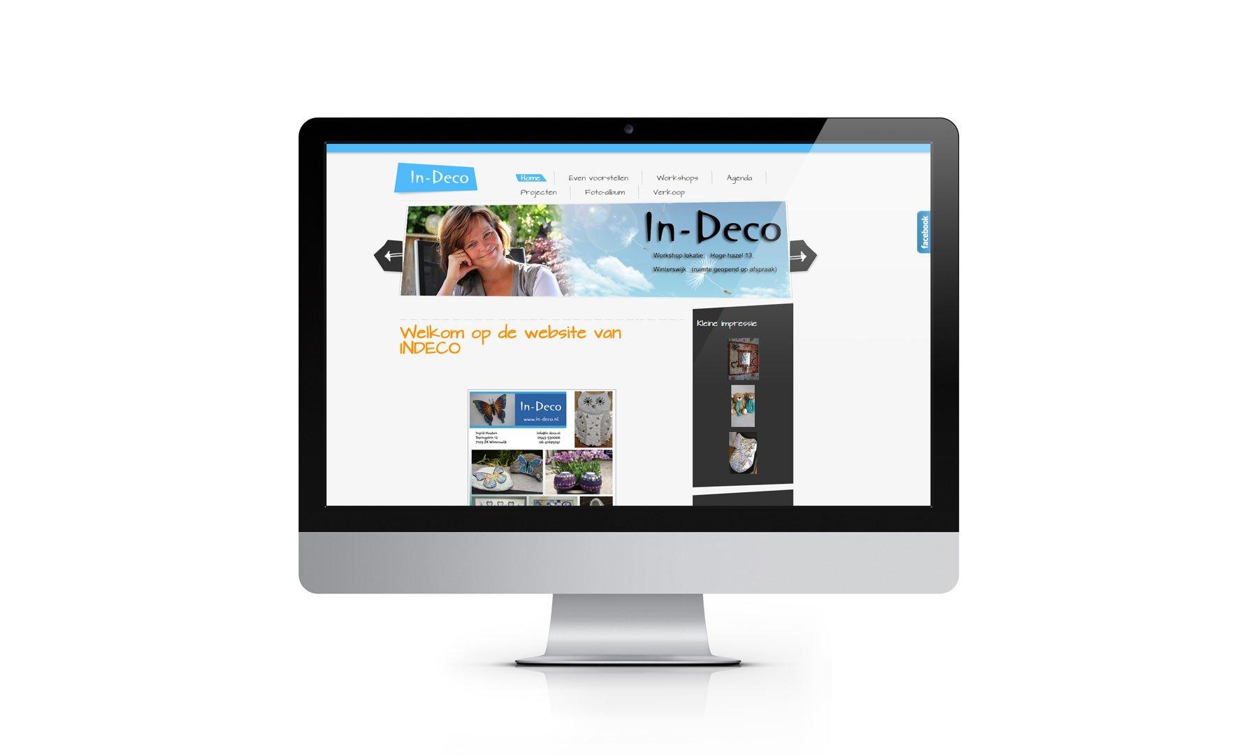 Website In-Deco Winterswijk