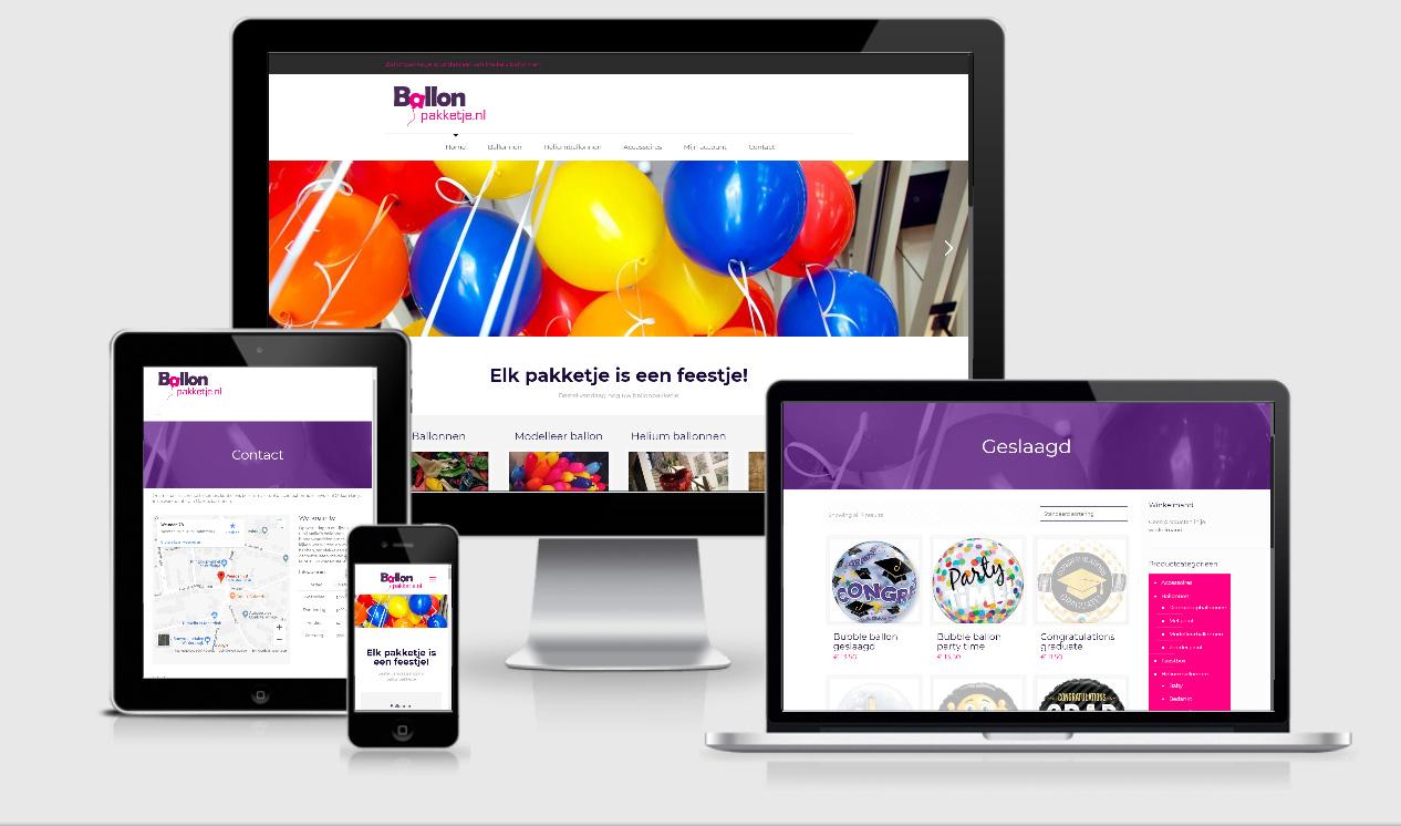 Website Ballonpakketje Winterswijk