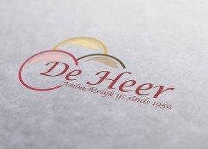 Logo De Heer IJs & Snacks Winterswijk
