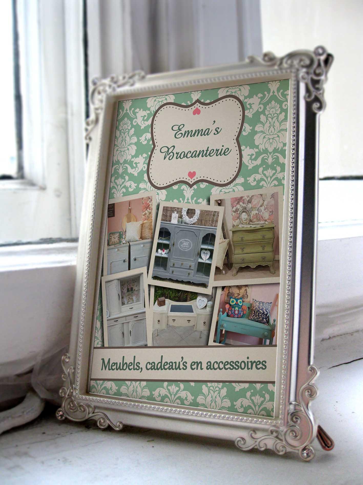Poster Emma's Brocanterie Winterswijk