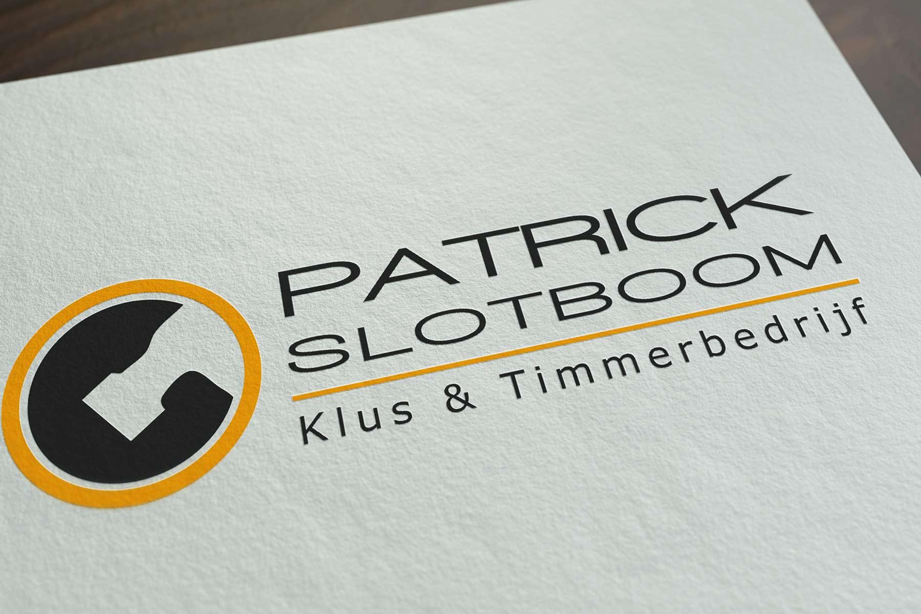 Logo ontwerp voor Patrick Slotboom uit winterswijk