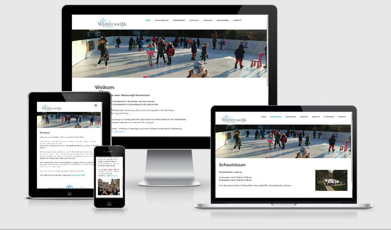 Website ontwerp Winterswijk Wonderland